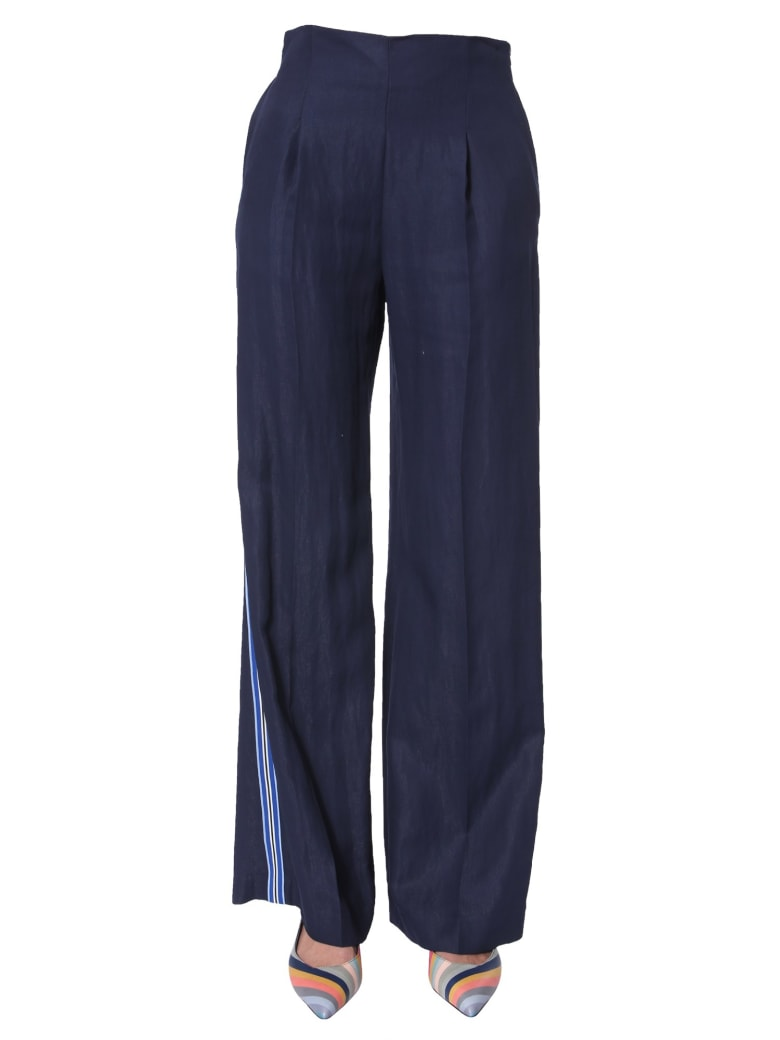 PS by Paul Smith Wide Pants - BLU