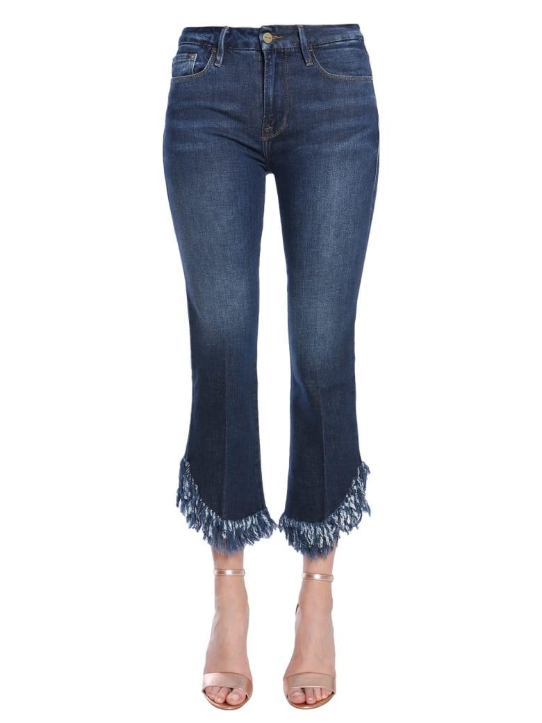 Frame Le Crop Mini Boot Jeans - DENIM