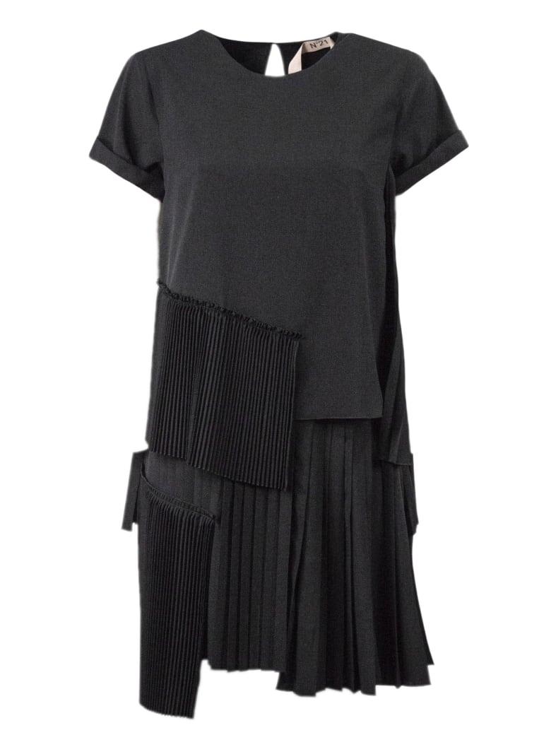 N.21 Black Short Dress - Nero