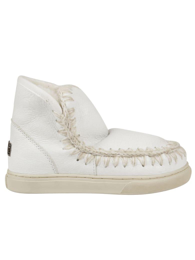Mou Eskimo Sneakers - Wxwhi Waxi White