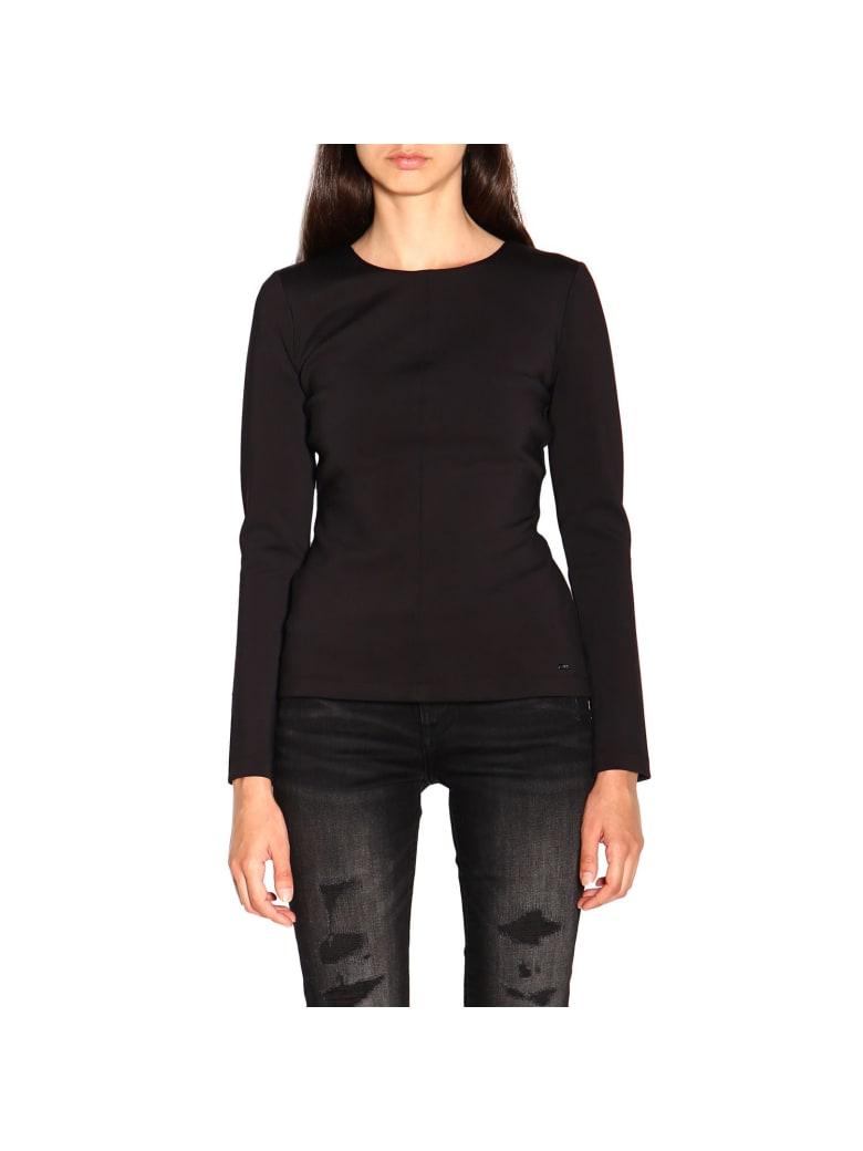 Armani Collezioni Armani Exchange T-shirt Top Women Armani Exchange - black