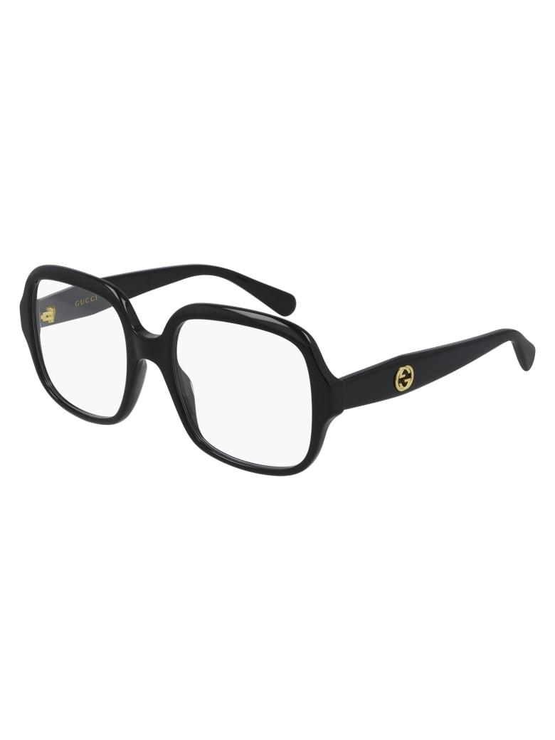 Gucci GG0799O Eyewear - Black Black Transpare