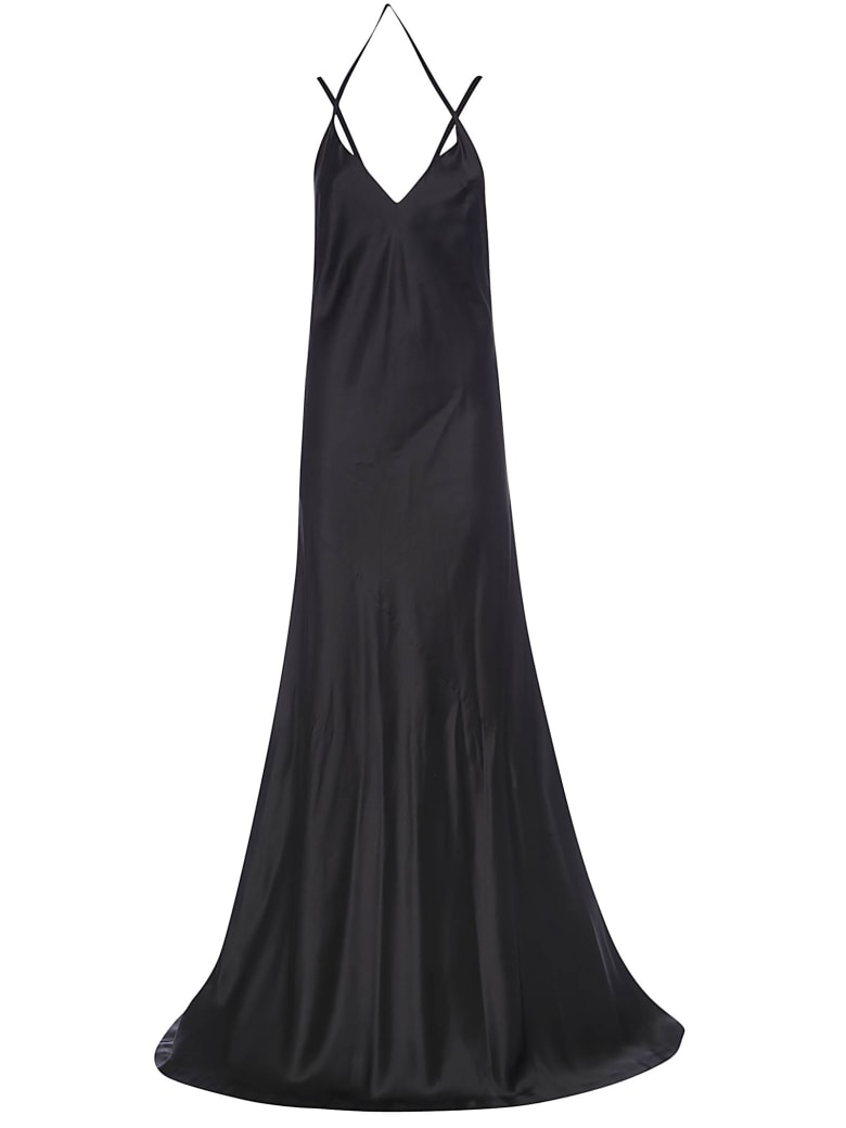 Haider Ackermann Dali Long Camisole Dress - Black