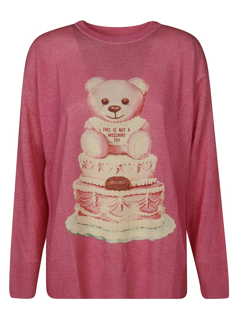 Moschino Teddy Bear Pullover - Pink