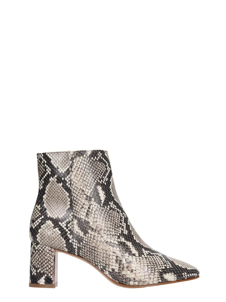 Sophia Webster Toni Mid Ankle Boots In Animalier Leather - Animalier