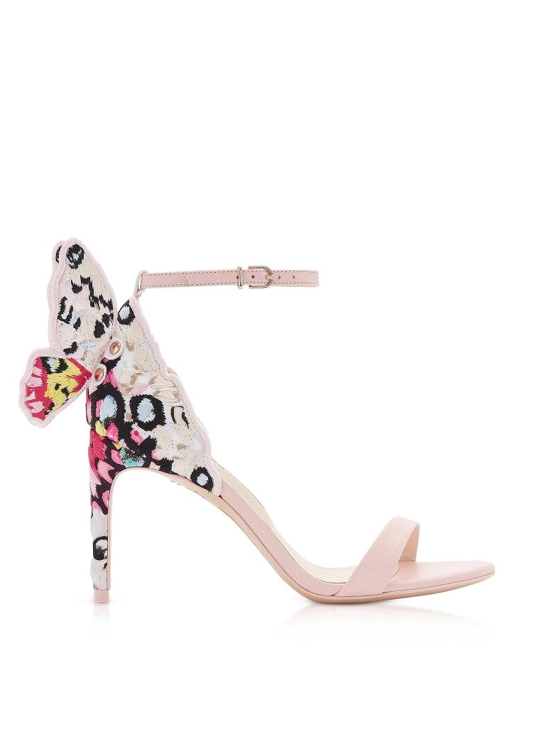 Sophia Webster Sophia Pink & Multi Chiara Embellished 85mm Sandals - Pink