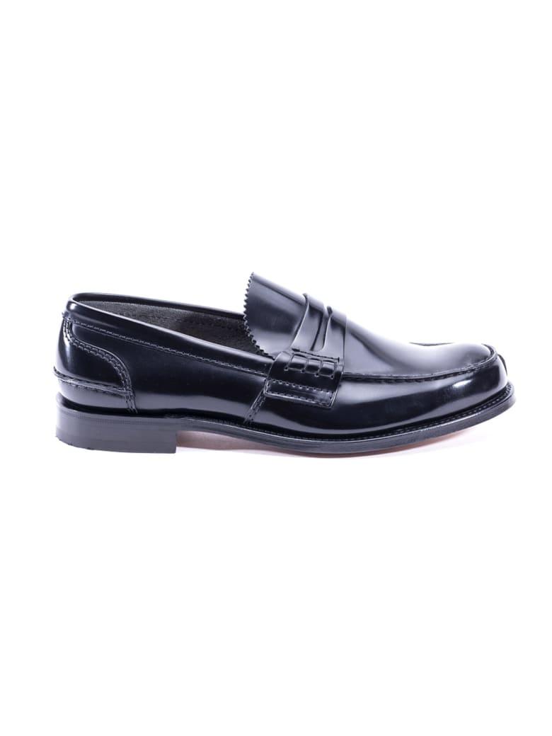 Church's Tunbridge Leather Loafers - BLACK