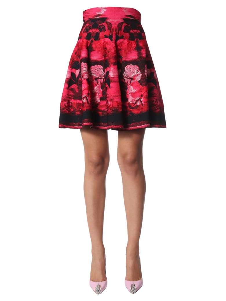 Alexander McQueen Mini Skirt - MULTICOLOR