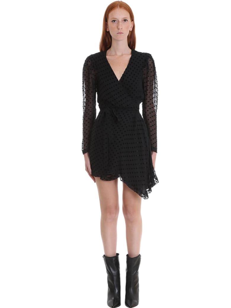 IRO Oxomo Dres Dress In Black Viscose - black