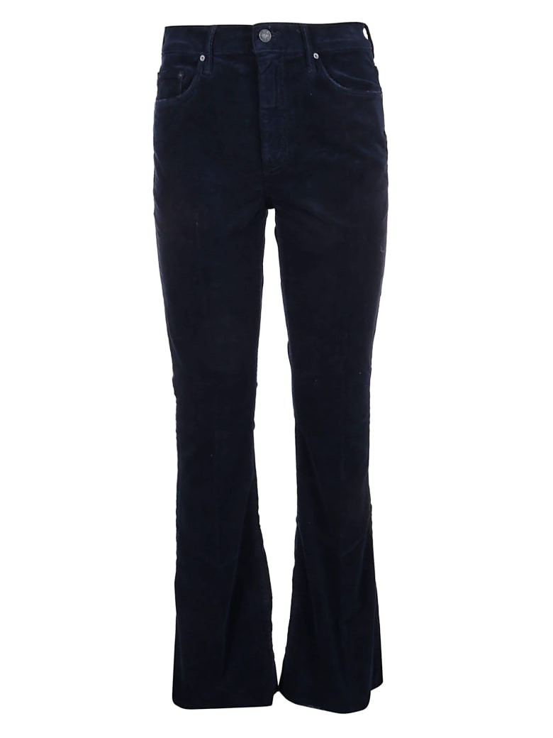 Mother Jeans The Weekender Fray - Nvy Nvy Navy