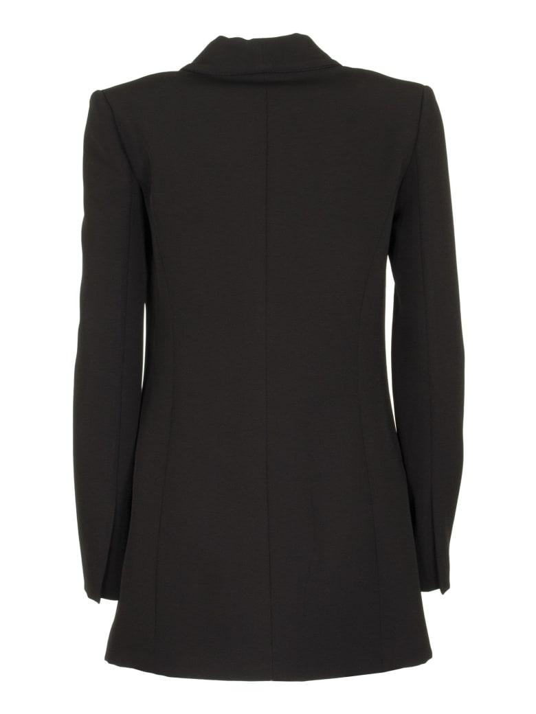 Elisabetta Franchi Celyn B. Double-breasted Tailored Jacket - Black