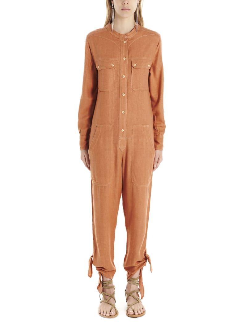 Isabel Marant 'tacaia' Jumpsuits - Orange