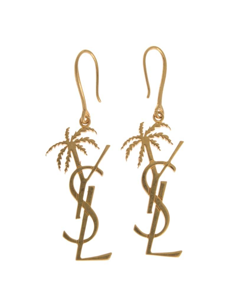 Saint Laurent Earrings - Gold