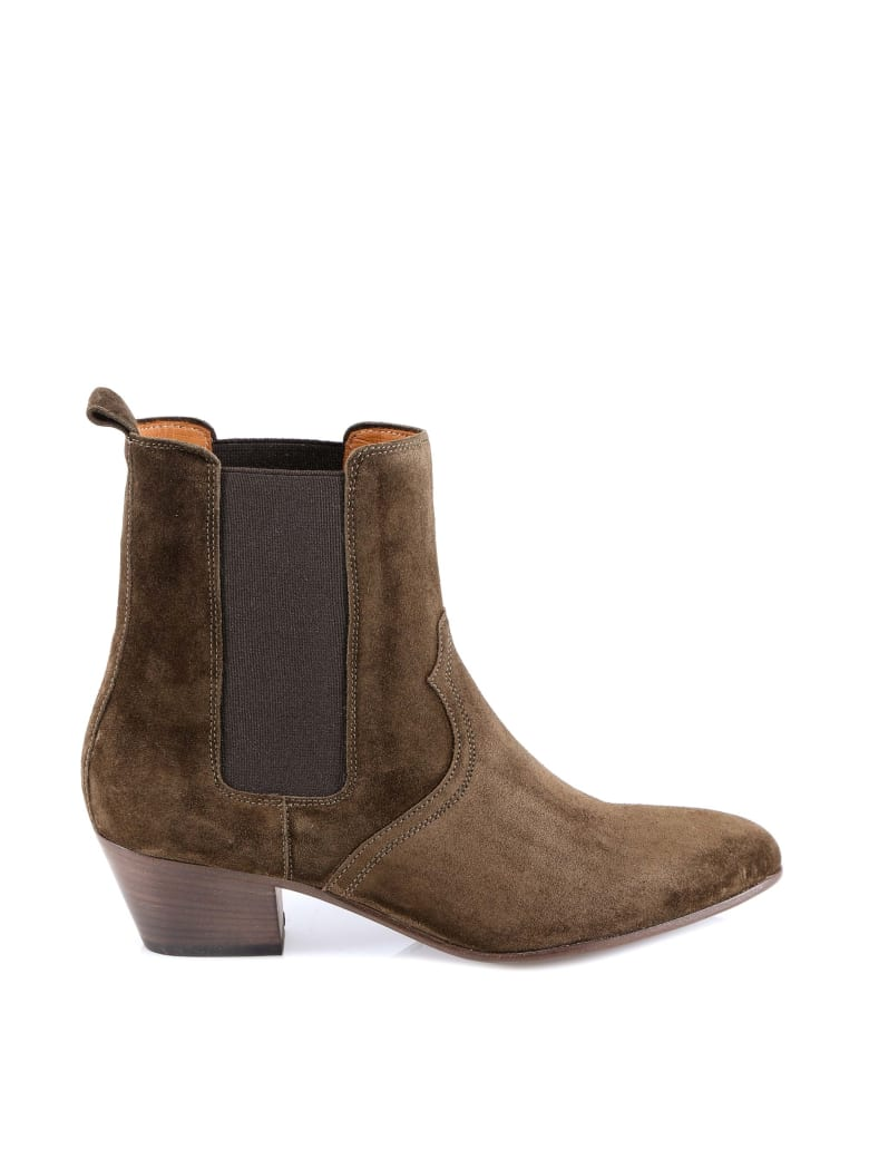 Closed Ankle Boot - Green