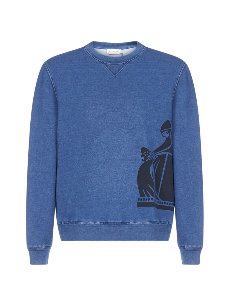Lanvin Fleece - Navy blue