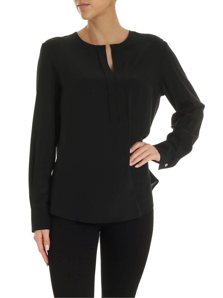 Barba Napoli Barba - V-neck Blouse - Black