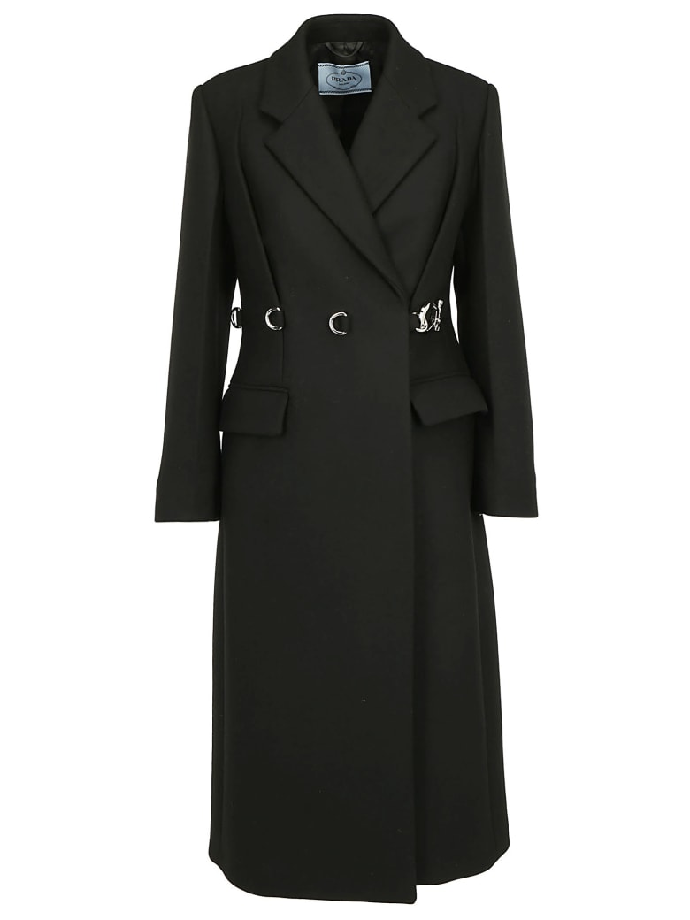 Prada Long Coat - Nero