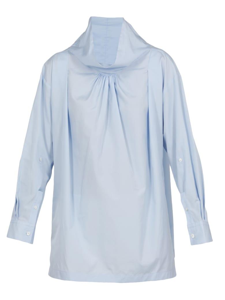 3.1 Phillip Lim Cotton Blouse - OXFORD BLUE