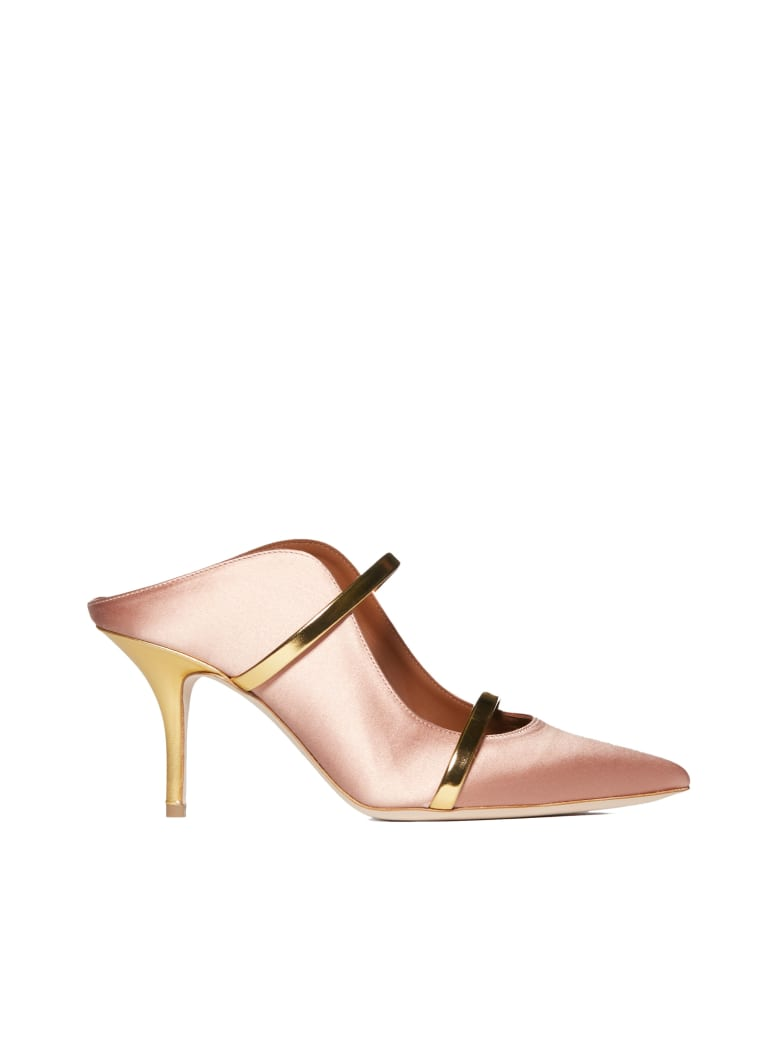 Malone Souliers High-heeled shoe - Rosa/oro