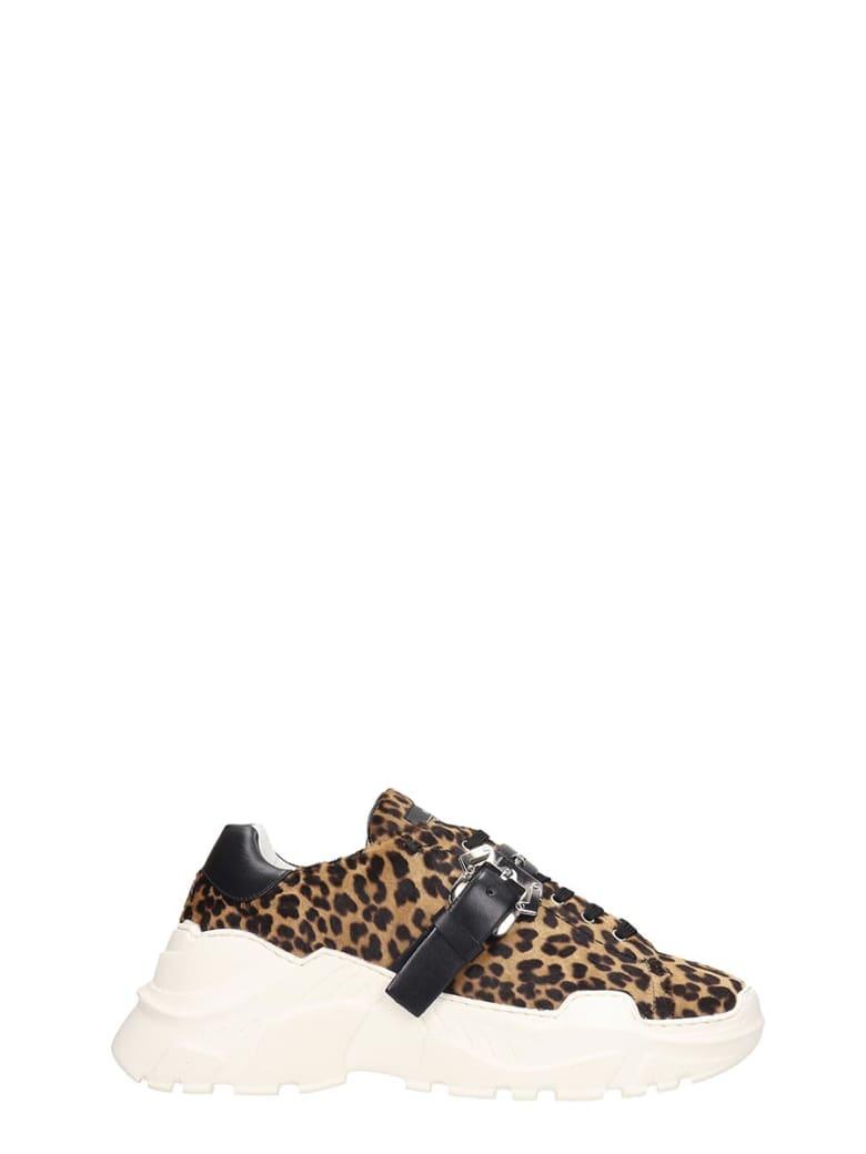 Paula Cademartori Sneakers In Animalier Pony Skin - Animalier