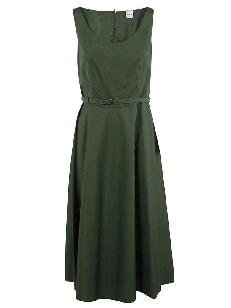 Aspesi Belted Waist Sleeveless Dress - Timo
