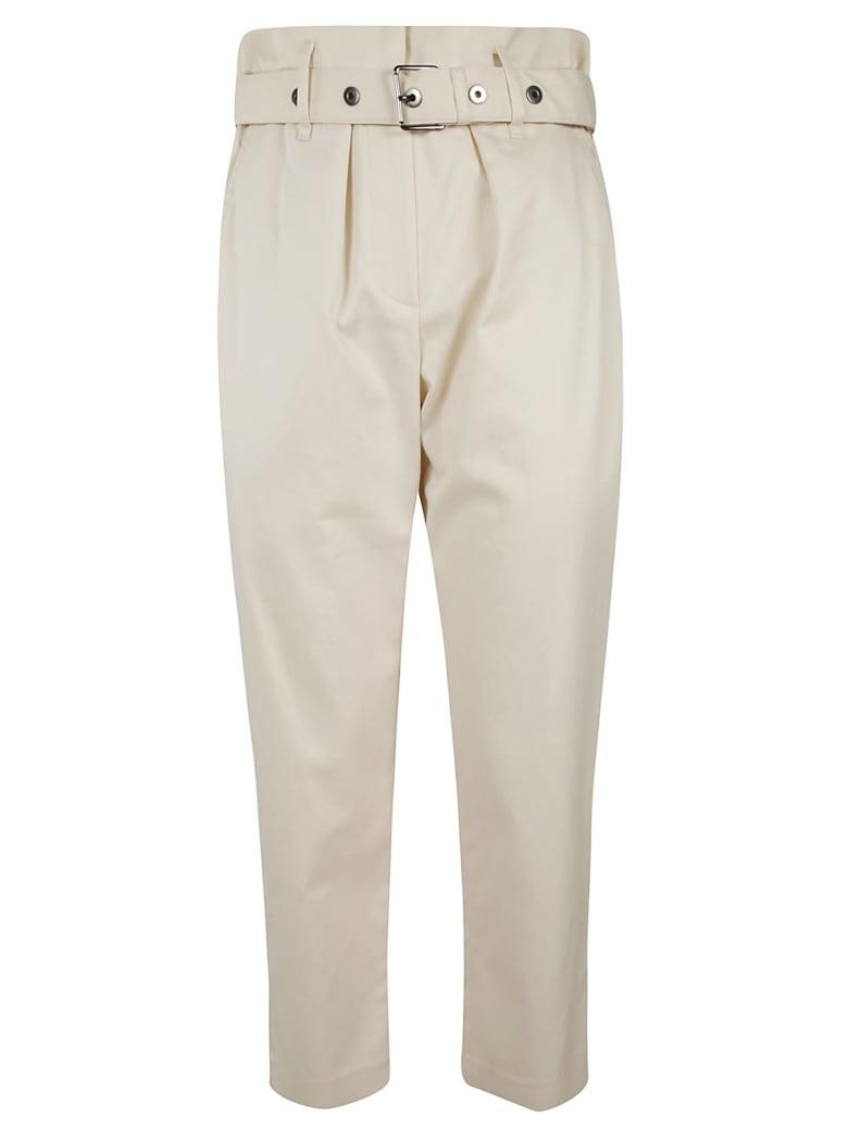 Brunello Cucinelli Cropped Trousers - White