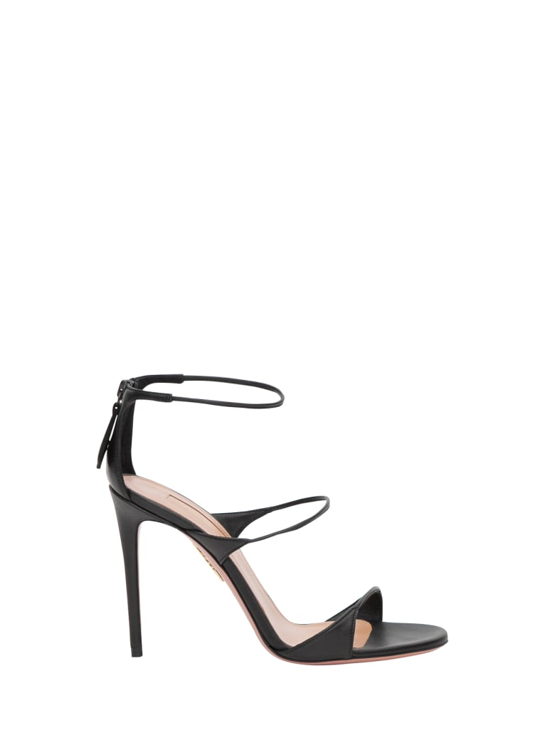 Aquazzura Minute 105 Sandals - Nero