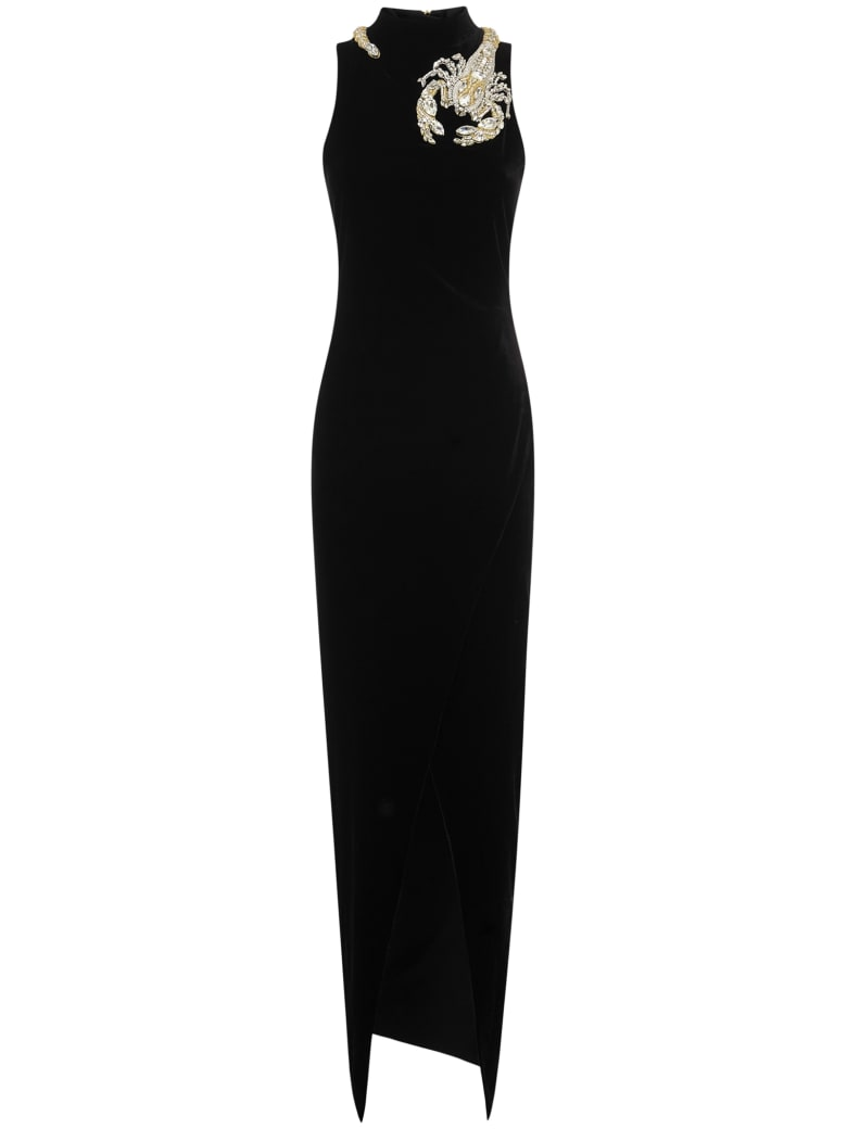 Balmain Paris Long Dress - Black