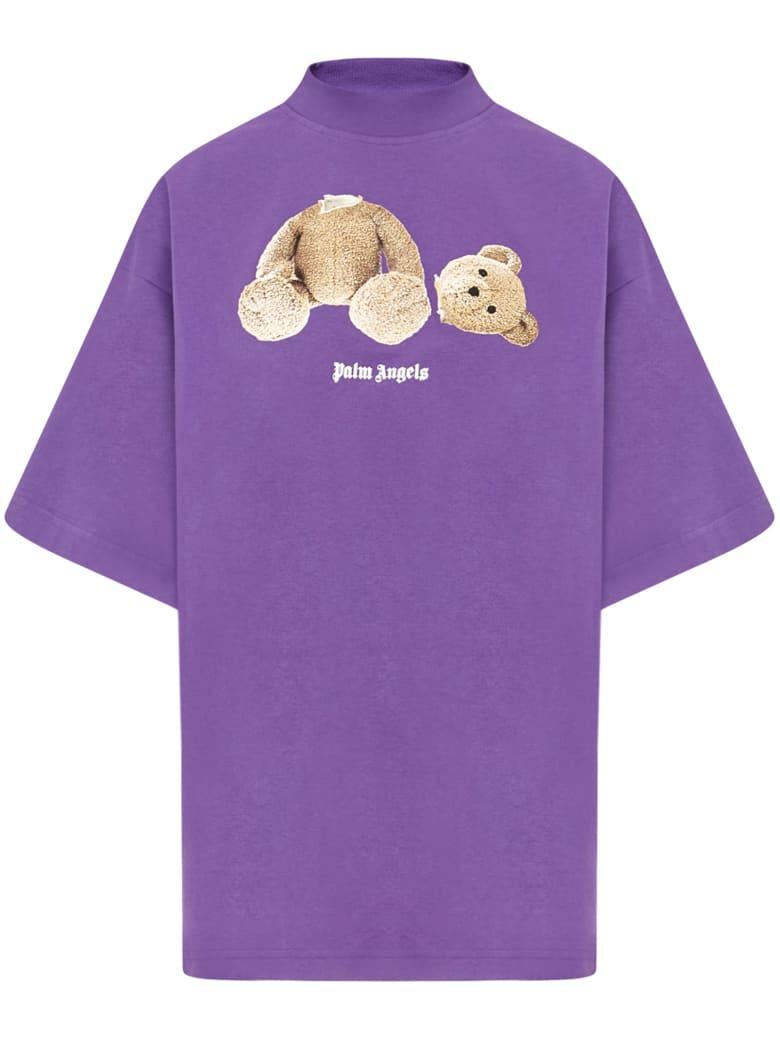 Palm Angels Bear T-shirt - Purple