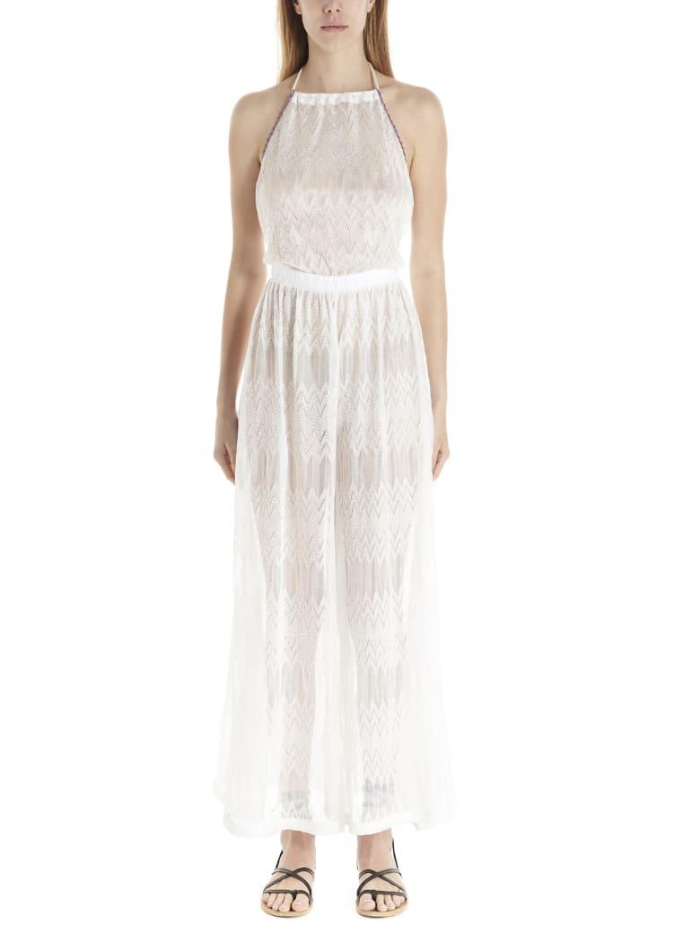 Missoni 'zig Zag' Jumpsuits - White