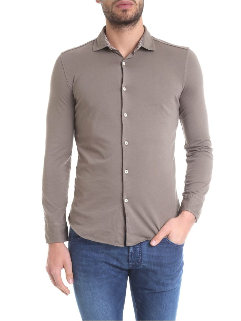 Drumohr Polo Shirt Cotton - Brown