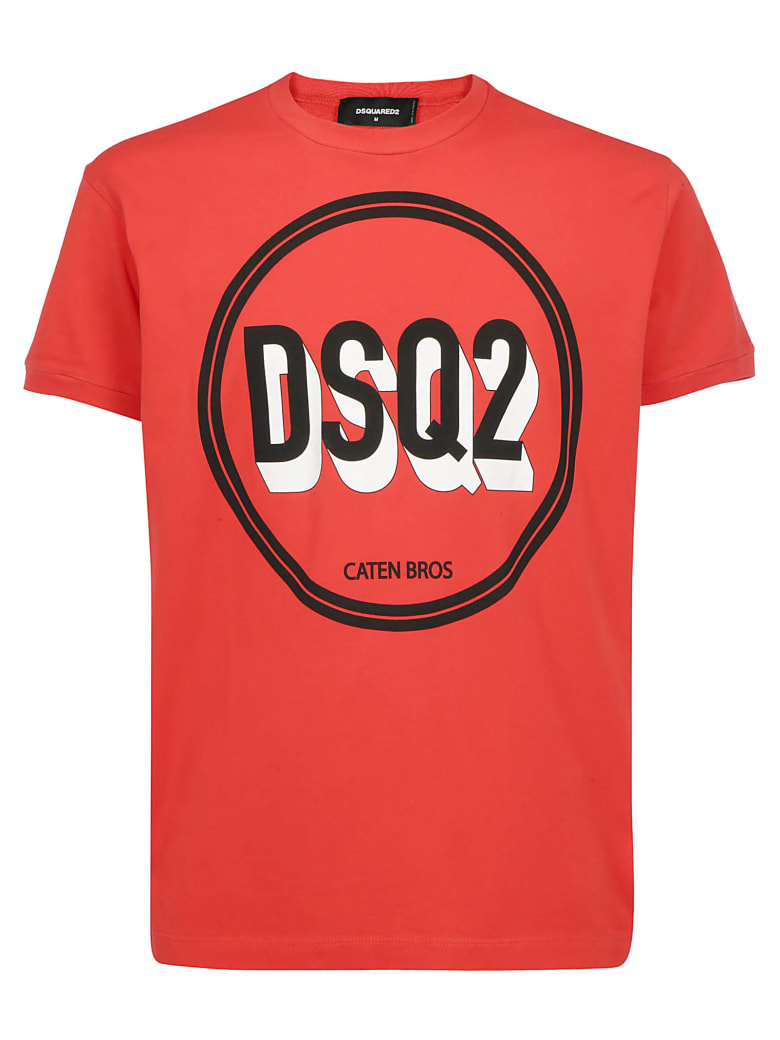 Dsquared2 T-shirt - Red