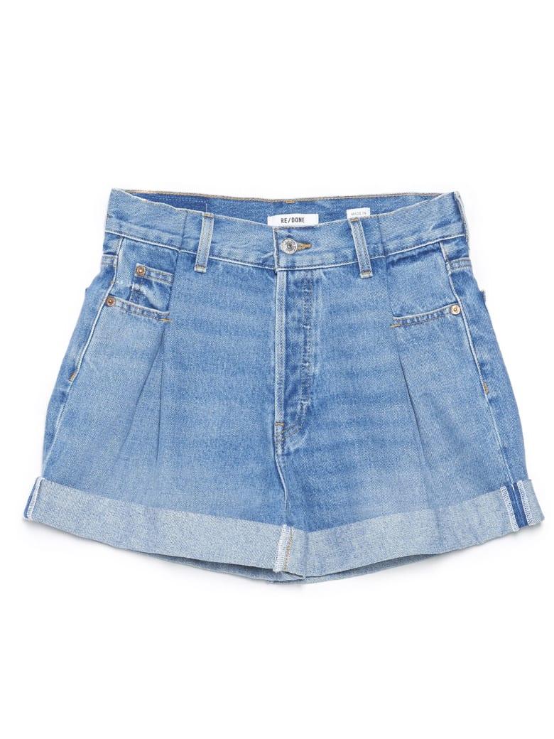 RE/DONE '40s Zoot Short' Shorts - Light blue