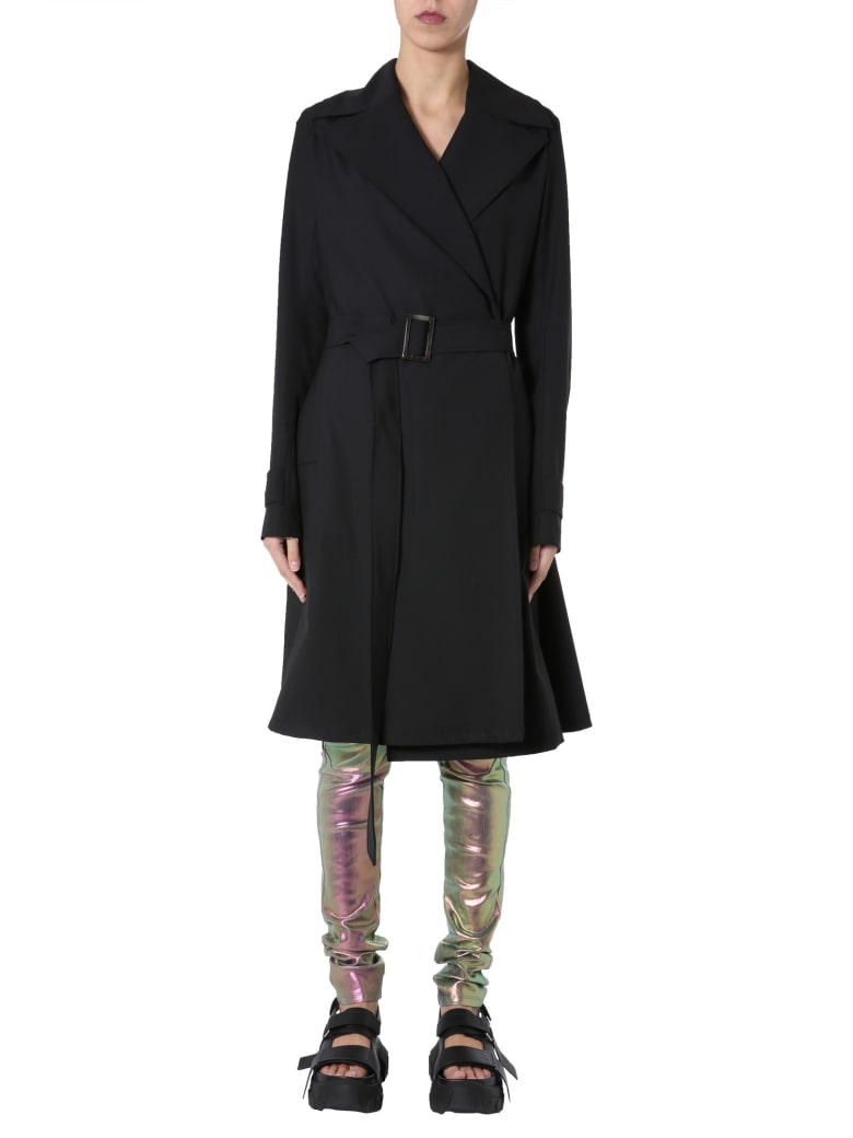 Rick Owens Softtrench - NERO