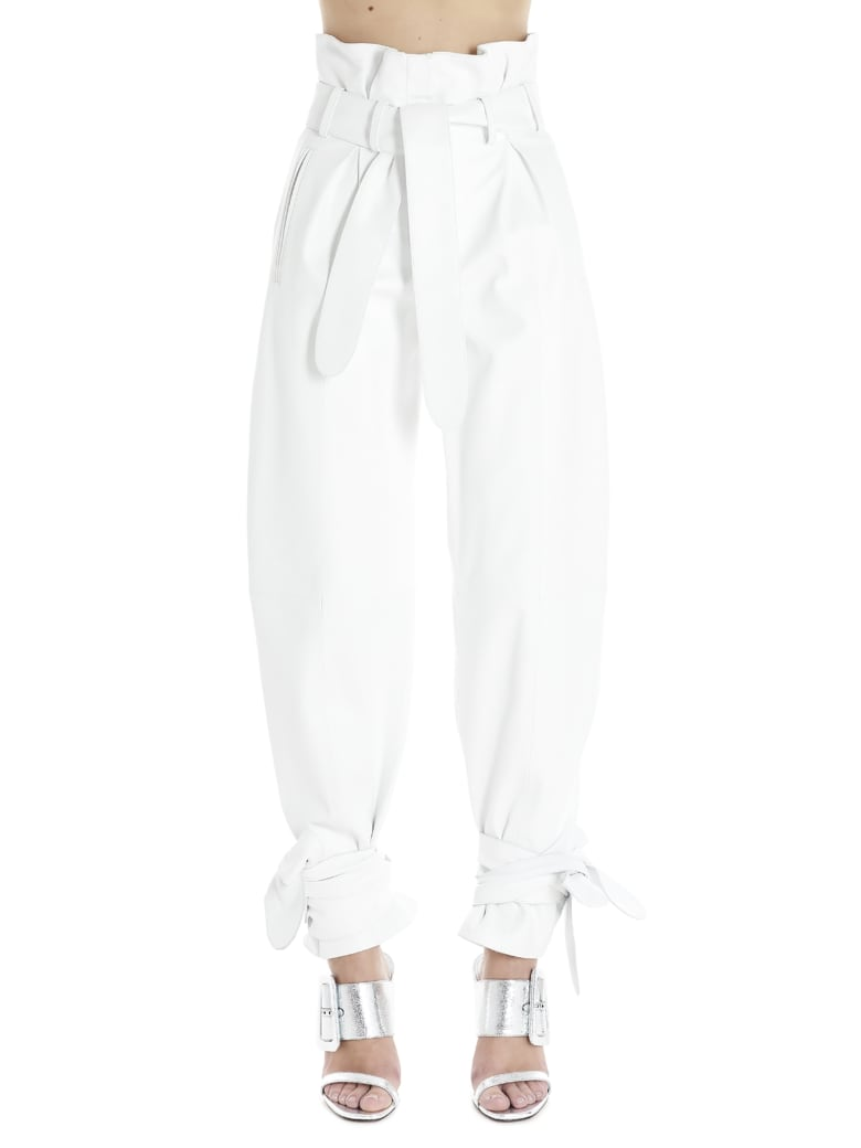 The Attico Pants - White
