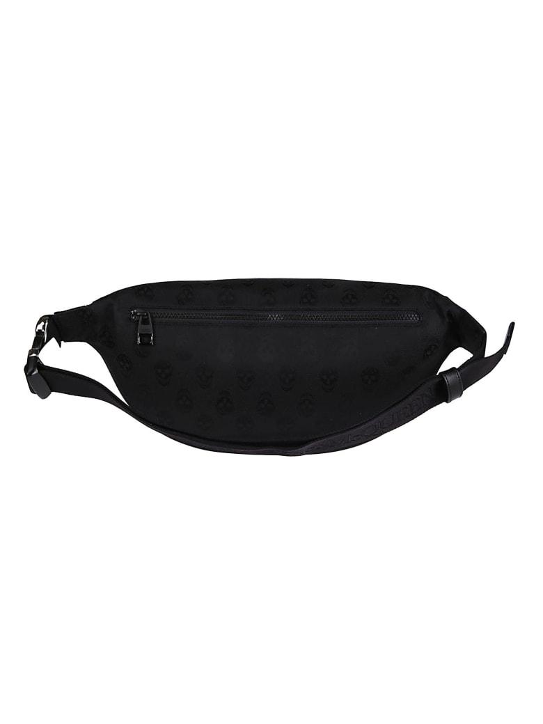 Alexander McQueen Black Canvas Belt Bag - Black