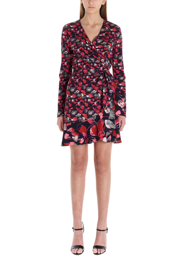 Diane Von Furstenberg 'elita' Dress - Multicolor