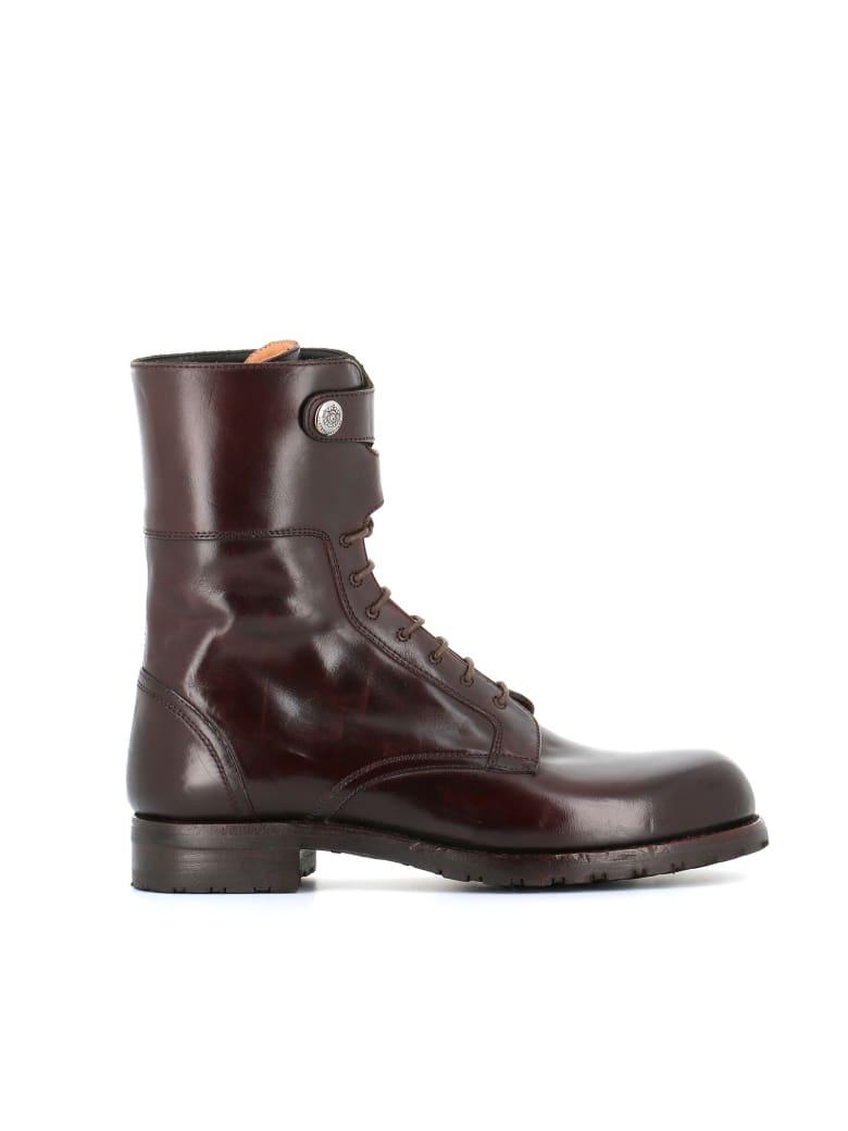 "Alberto Fasciani Lace Up Boot ""windy 50007"" - Dark brown"