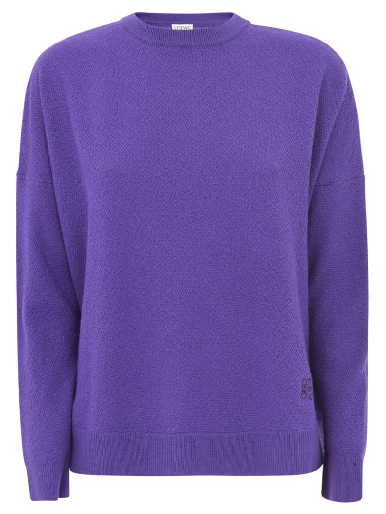 Loewe Oversized Sweater - Violet