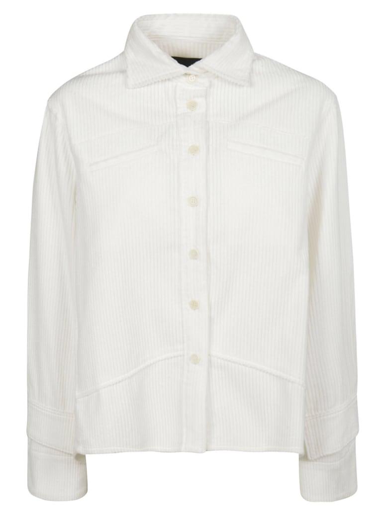 Jejia Ribbed Top - White