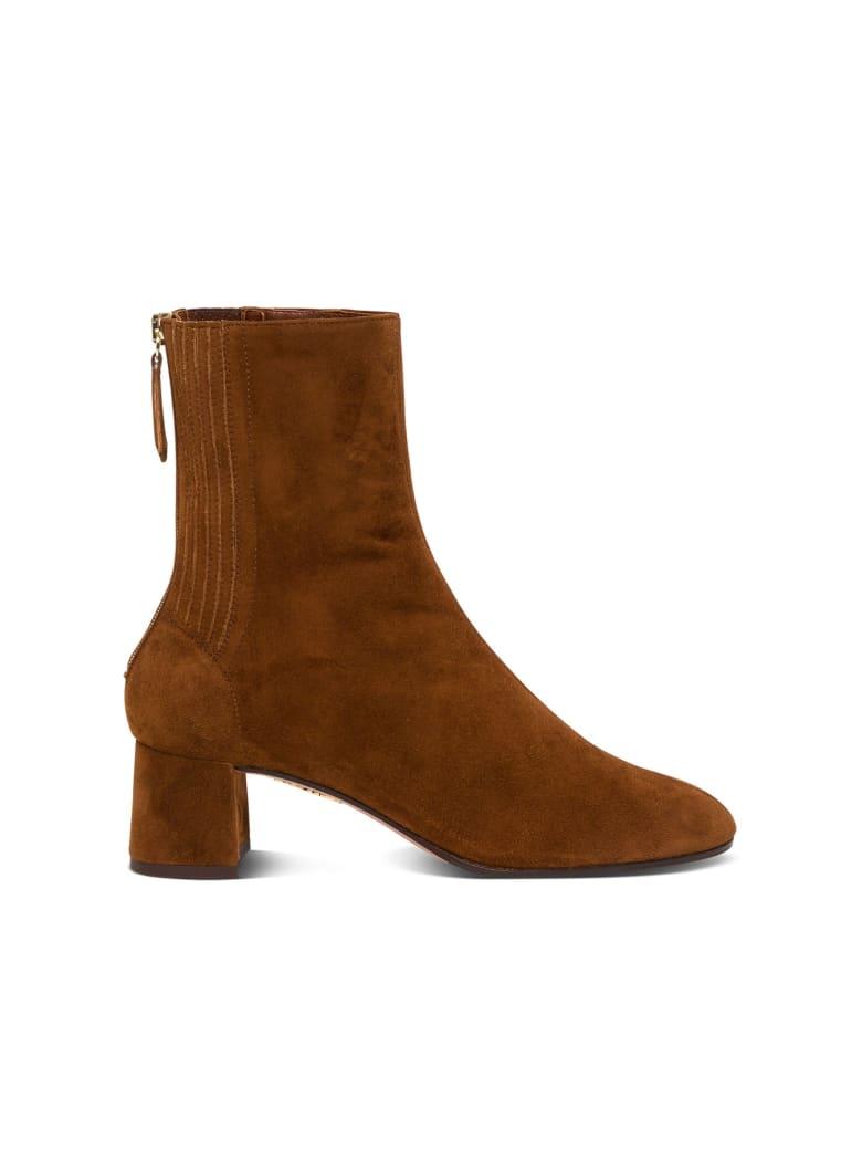 Aquazzura Saint Honorè Ankle Boots - Brown