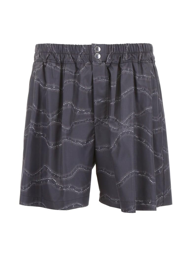M1992 Printed Swim Shorts - NERO GRIGIO (Black)