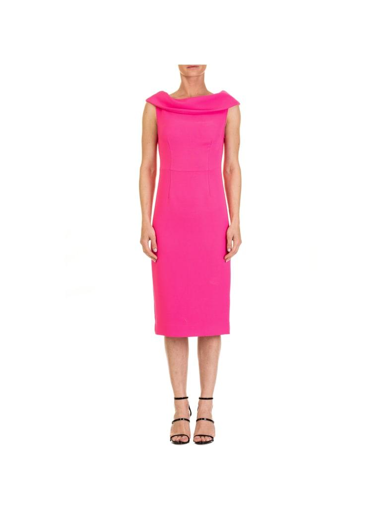 Parosh Poloxy Dress - FUCHSIA
