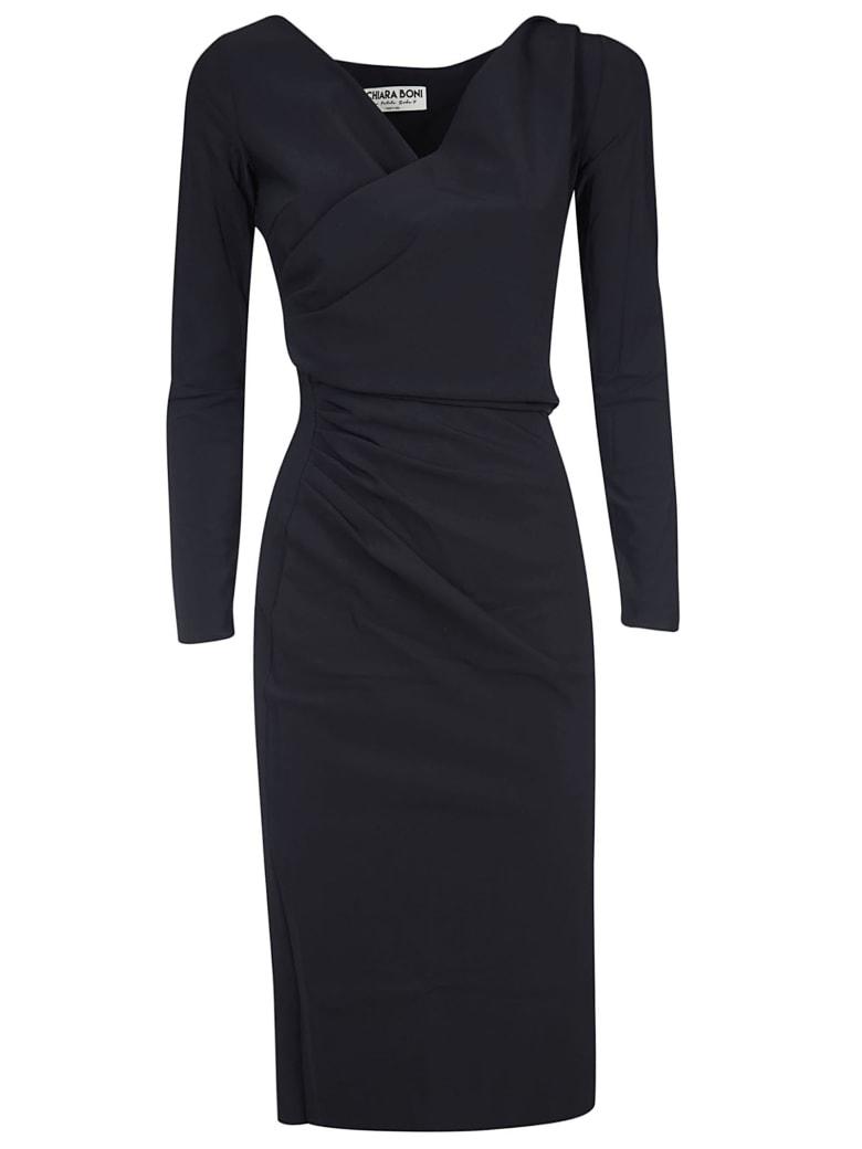 La Petit Robe Di Chiara Boni Marquita Dress - Black