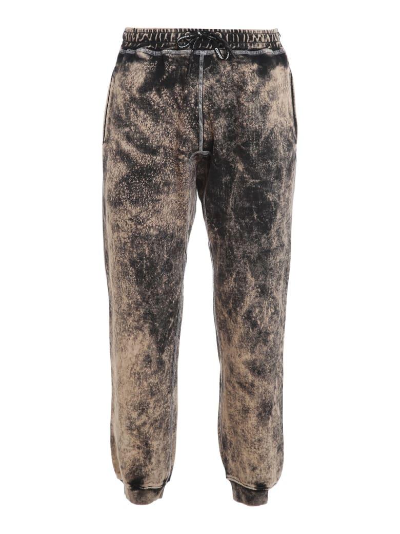 United Standard Glitch Logo Sweatpants - Blk Black