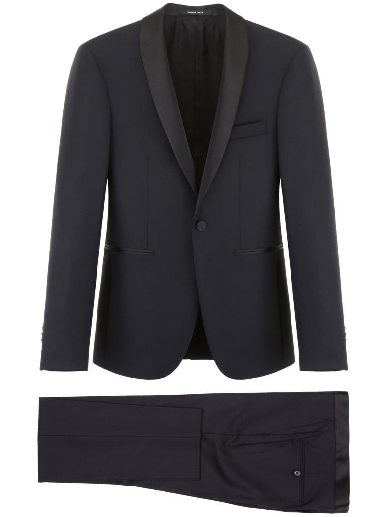 Tagliatore Two-piece Suit - BLACK (Black)