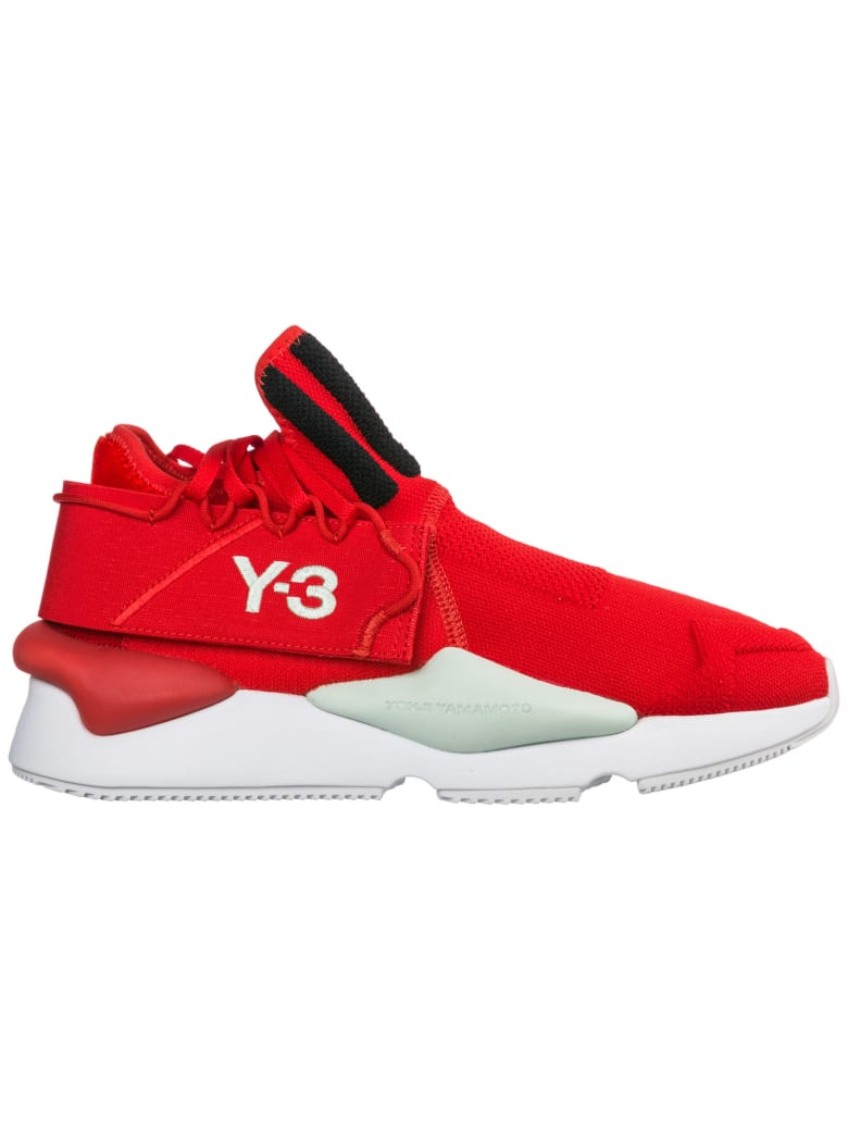 Y-3  Shoes Nylon Trainers Sneakers Kaiwa - Rosso