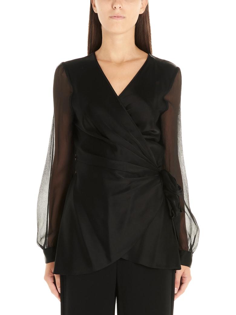 Diane Von Furstenberg 'klee' Shirt - Black