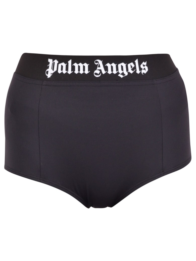 Palm Angels Branded Briefs - Blue
