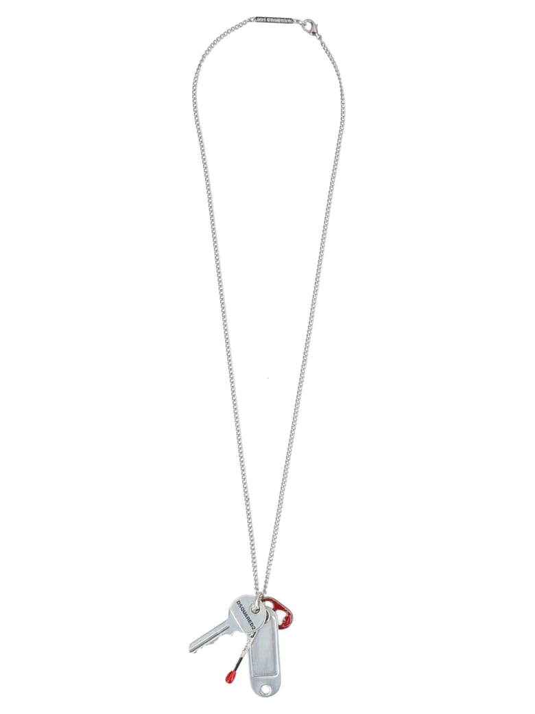 Dsquared2 Necklace - Silver